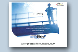 ebm-papst wins Energy Efficiency Award 2009