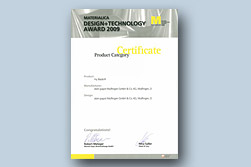 HyBlade® is among the winners of the MATERIALICA Design + Technology Awards 2009