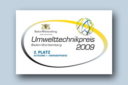 Baden-Wuerttemberg Environmental Technology Award 2009